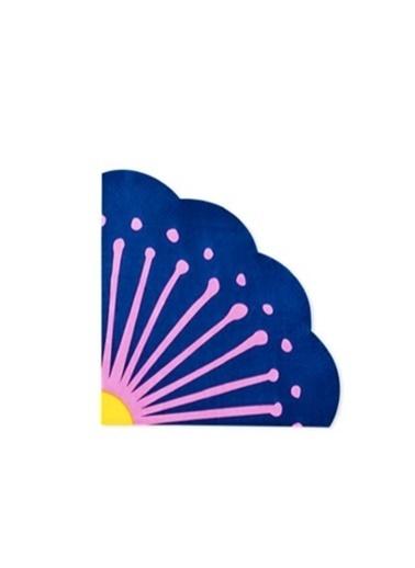 LWP Shop Flying Tiger Lacivert  Çiçek Şekilli Peçete Lacivert